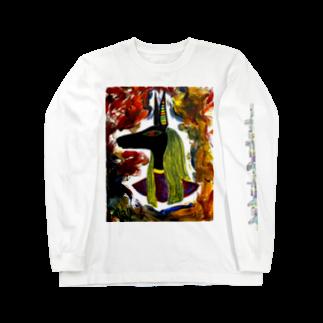 Jinny HayasakiのアヌビスT Long sleeve T-shirts