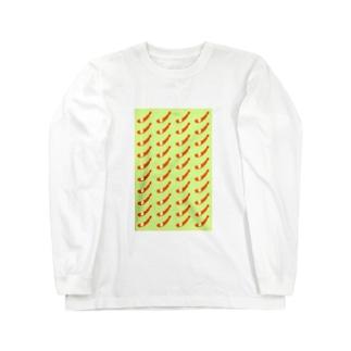 エビフライ Long sleeve T-shirts