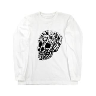 Sex Skull Long sleeve T-shirts