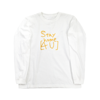 皇月SATSUKIのStay home Long sleeve T-shirts