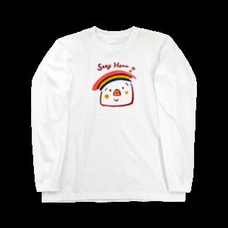 .michiko.のStay Home Long sleeve T-shirts