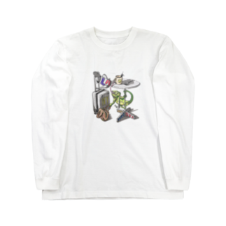 PENTAの旅するカメレオン Long sleeve T-shirts