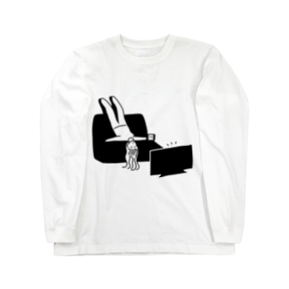 HMCの不要不急ガール Long sleeve T-shirts
