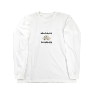 Dogs  Mating(犬の交尾) Long sleeve T-shirts