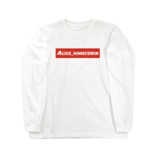 ALiCE_HiMECORiN(横) Long sleeve T-shirts