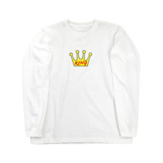 Sorapolice_pinopoliceのKING Long sleeve T-shirts