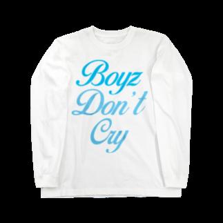 MINAMI SHOPのBoyz Don't Cry Long sleeve T-shirts