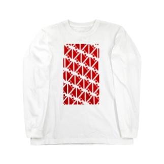 サーヴィエ行進曲 紅 Long sleeve T-shirts