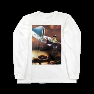 Marikaの宇宙着陸 Long sleeve T-shirts