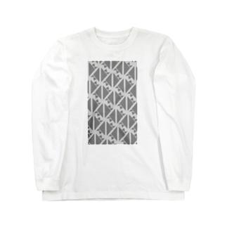 サーヴィエ行進曲 燻銀 Long sleeve T-shirts