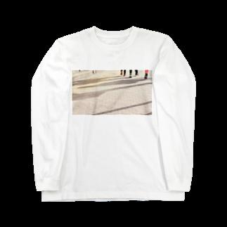 まきまきふぉとのsilhouette Long sleeve T-shirts