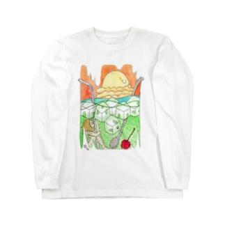 クリームソーダ Long sleeve T-shirts
