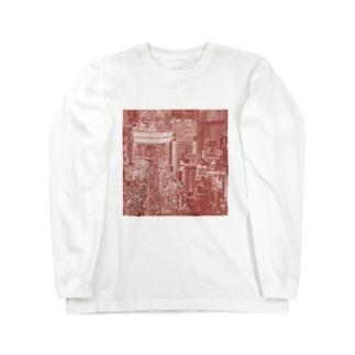 東京|tokyo Long sleeve T-shirts