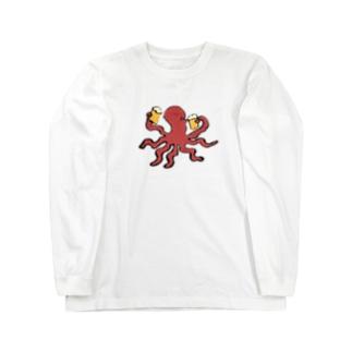 きゅっと一杯 Long sleeve T-shirts
