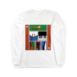 楽器 Long sleeve T-shirts