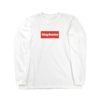 Stayhome グッズ Long sleeve T-shirts