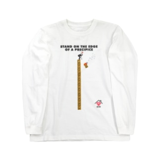 STAND ON THE EDGE OF A PRECIPICE Long sleeve T-shirts