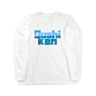 具志堅Tシャツ(万座毛) Long sleeve T-shirts