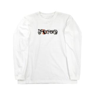 ペイズリー Force boxlogo Long sleeve T-shirts