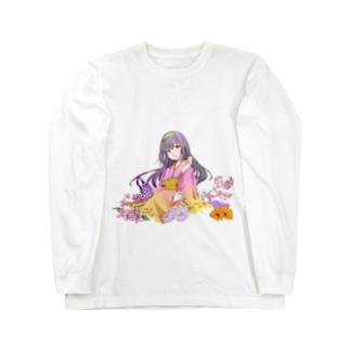 着物美人 『春』 Long sleeve T-shirts