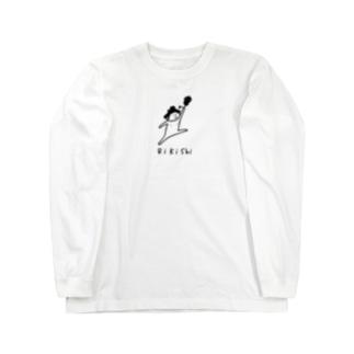 大相撲 力士と軍配 Long sleeve T-shirts