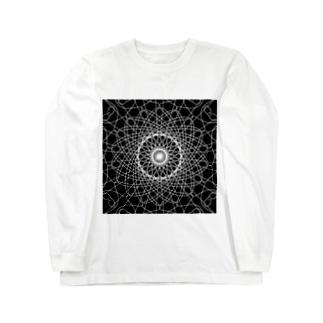 幾何学模様 series Long sleeve T-shirts