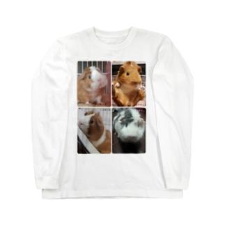 四つ子 Long sleeve T-shirts