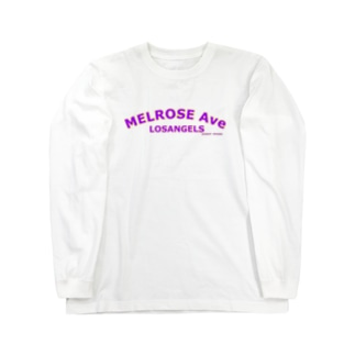 MELROSE Ave LOSANGELS  Long sleeve T-shirts