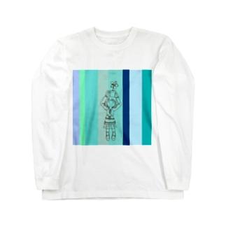 花瓶女子 Long sleeve T-shirts