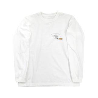 Cigarette Long sleeve T-shirts