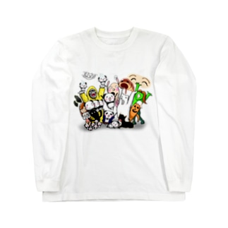 しゅりんぷぅオールスターズ Long sleeve T-shirts