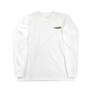 シダ植物 Long sleeve T-shirts