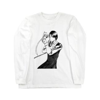 職業戦士『礼示撃ち』 Long sleeve T-shirts