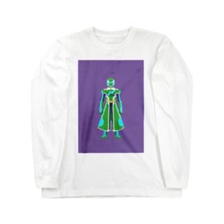 グリーン トレフブロン アモスタイル Long sleeve T-shirts