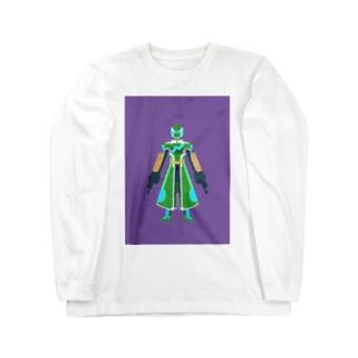 グリーン トレフブロン2 アモスタイル Long sleeve T-shirts