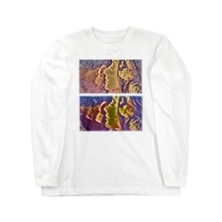 耳打ち。 Long sleeve T-shirts