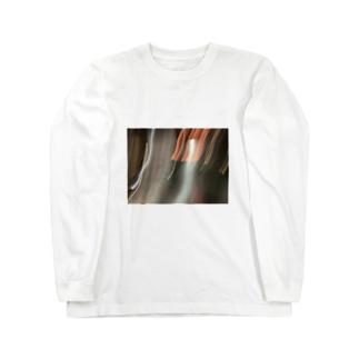 火の露光 Long sleeve T-shirts