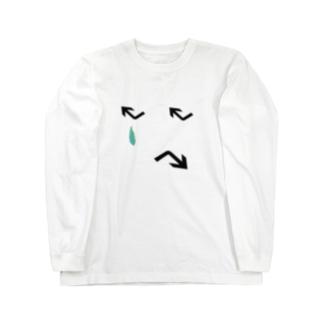 シミュラクラ Long sleeve T-shirts