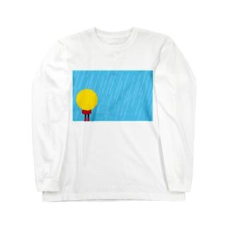 雨の日 Long sleeve T-shirts