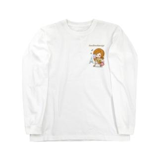 ルンルンおかいもの♪ Long sleeve T-shirts