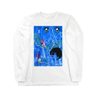 遺伝子組換え Long sleeve T-shirts
