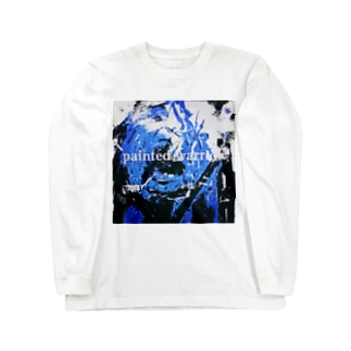 Painted warrior Long sleeve T-shirts