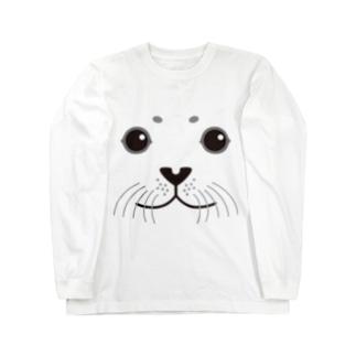 SEAL-animal up-アニマルアップ- Long sleeve T-shirts