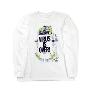 オオシロムネユミ AND SHOUT Long sleeve T-shirts