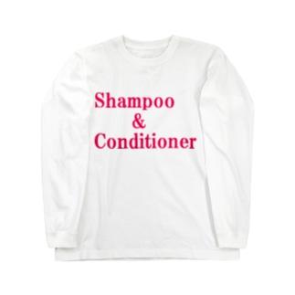 シャンプー コンディショナー Long sleeve T-shirts