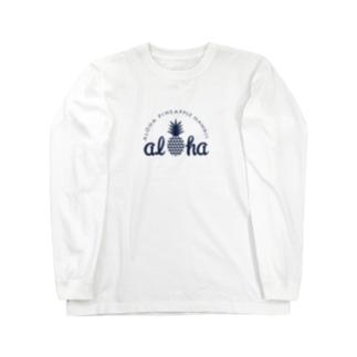 パイナップル 16(heart) Long sleeve T-shirts