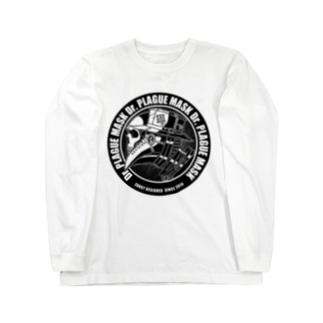Dr.PLAGUE MASK Long sleeve T-shirts