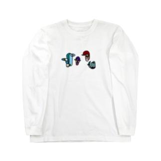 HITOFUDE-KUN(random) Long sleeve T-shirts