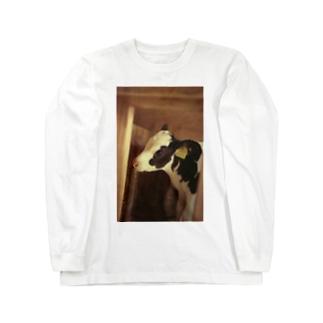 馬喰の仔牛 Long sleeve T-shirts