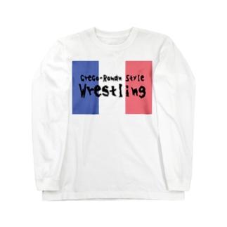グレコローマンTシャツ Long sleeve T-shirts